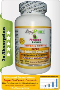 Enteric Coated Curcumin tablets