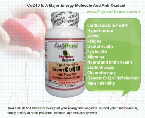 coenzyme q10 ubiquinol benefits