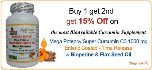 mega potency super curcumin