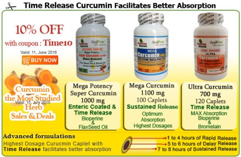 Time Release Curucmin Supplements Sale