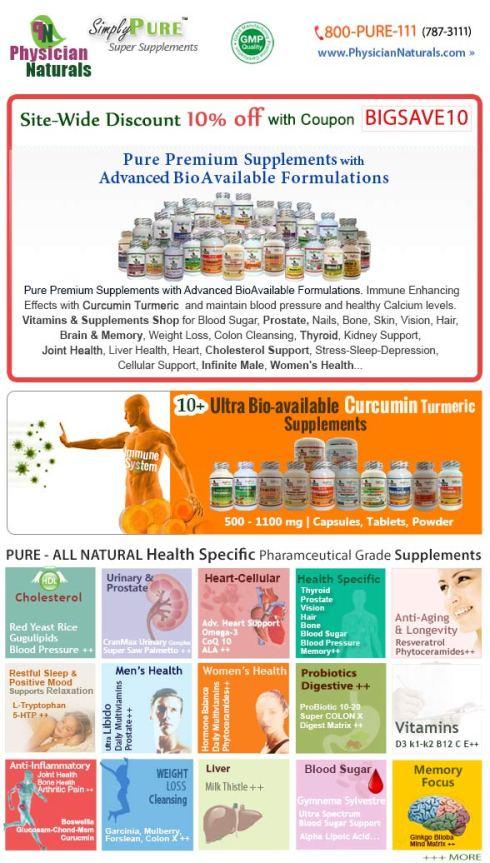 Sitewide Discount Vitamins Supplements