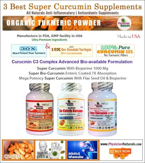 3 Best Super Curcumin Supplements