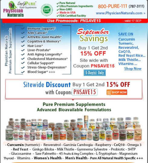 Best Vitamins and Supplements Sales